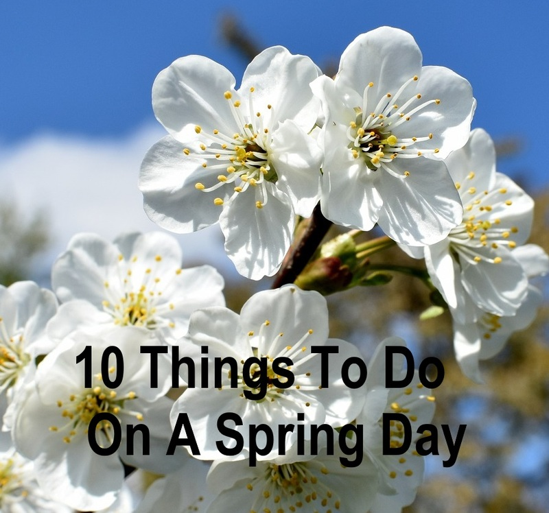 10 things to do on a spring day