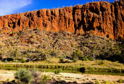 Alice Springs mountain range