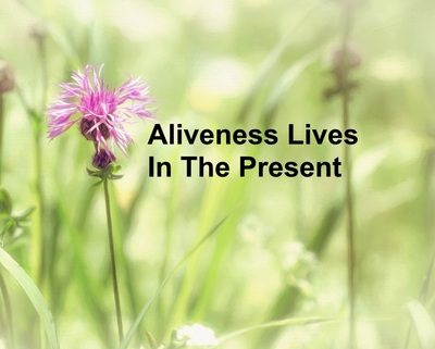 Aliveness Lives In The Present