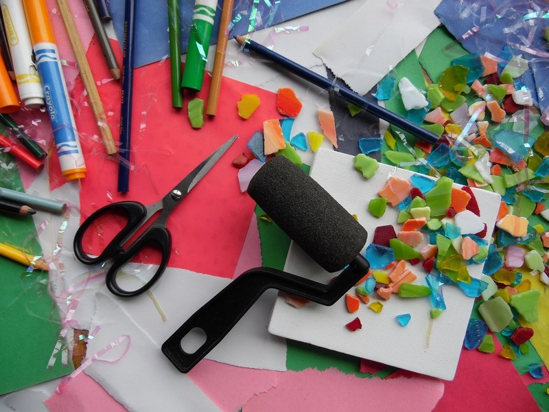 Art supplies  - Decluttering Is A Personal Decision