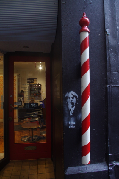 Barber shop and pole