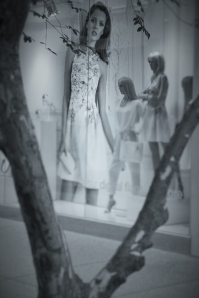 Clothes shop window