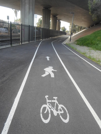 Cycling And Walking Path