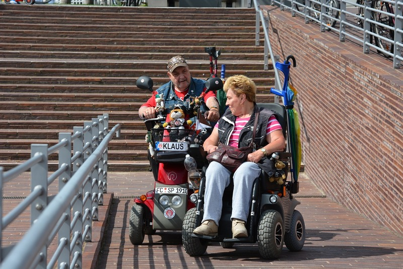 Electric wheelchairs  - Footpath Rant