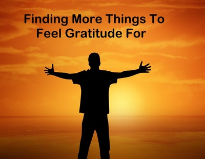 Finding more things to feel gratitude for