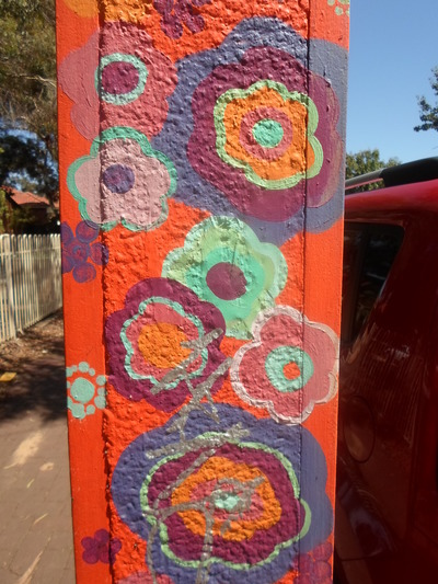 Flowers Painted On Stobie