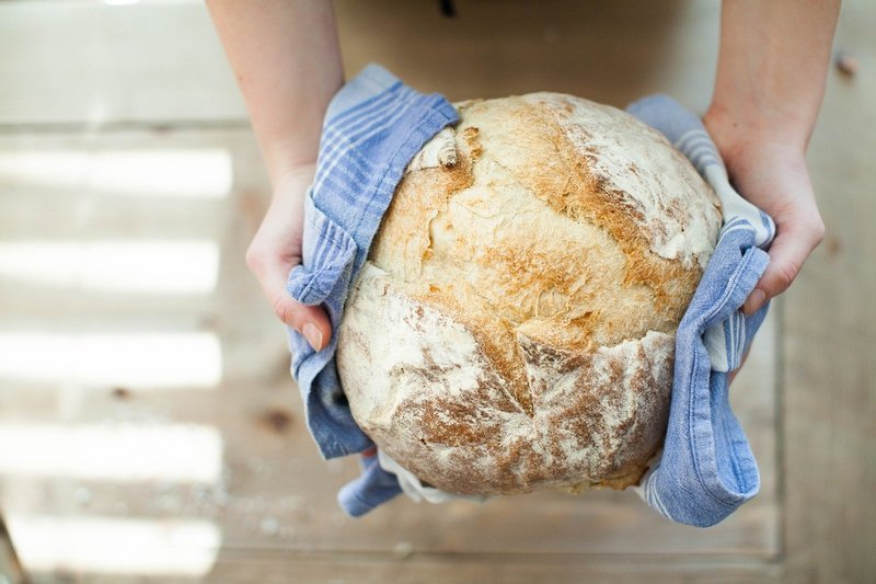 Freshly baked bread  - 8 Social - Distancing - Friendly Activities To Do At Home