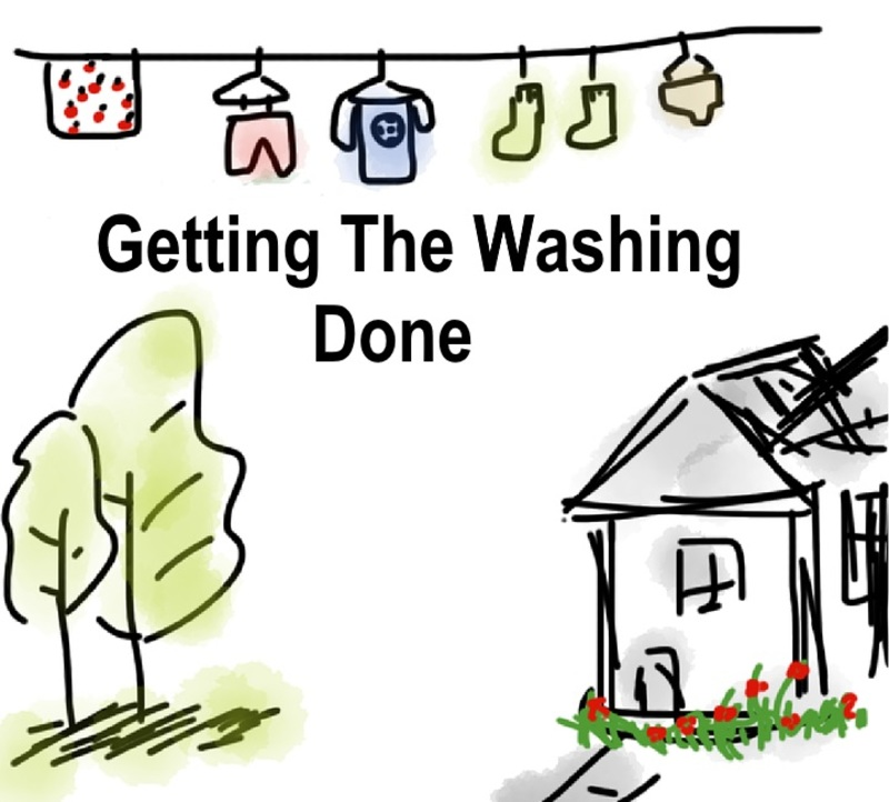 Getting The Washing Done