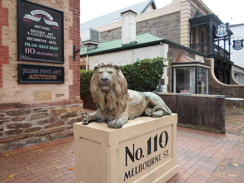 Lion Statue  - The Pleasure Of Doing Something Different