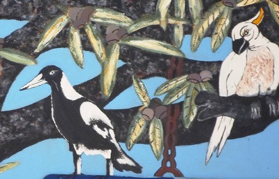 Magpie And Cockatoo