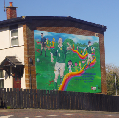Northern Ireland wall painting