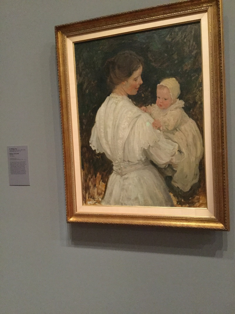 Painting mother and child  - Mothering # 2