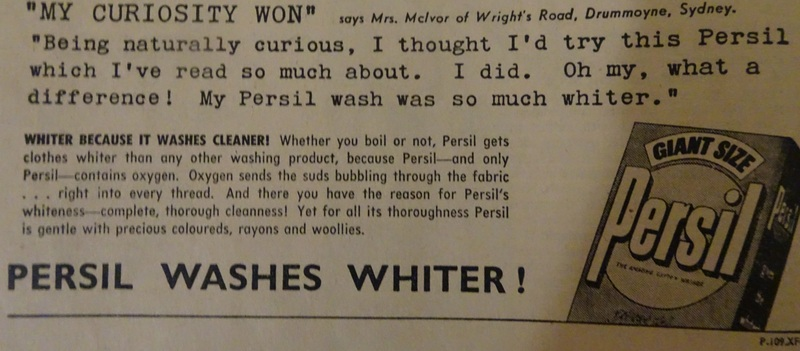 Persil advert