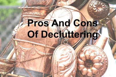 Pros and cons of decluttering