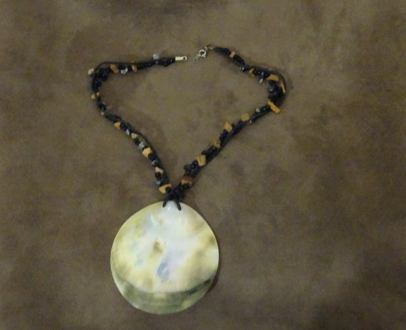 Shell pendant  - New Life For An Old Piece Of Jewellery