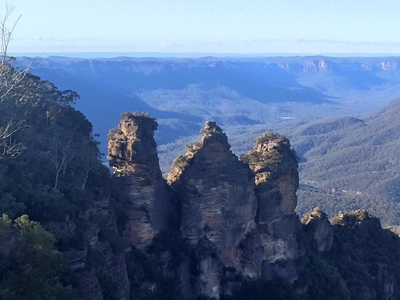 Three Sisters Blue Mountain