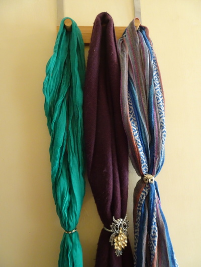 Three Scarves