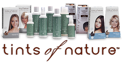 Tints of nature product range