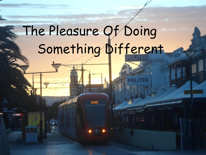 Tram  - The Pleasure Of Doing Something Different