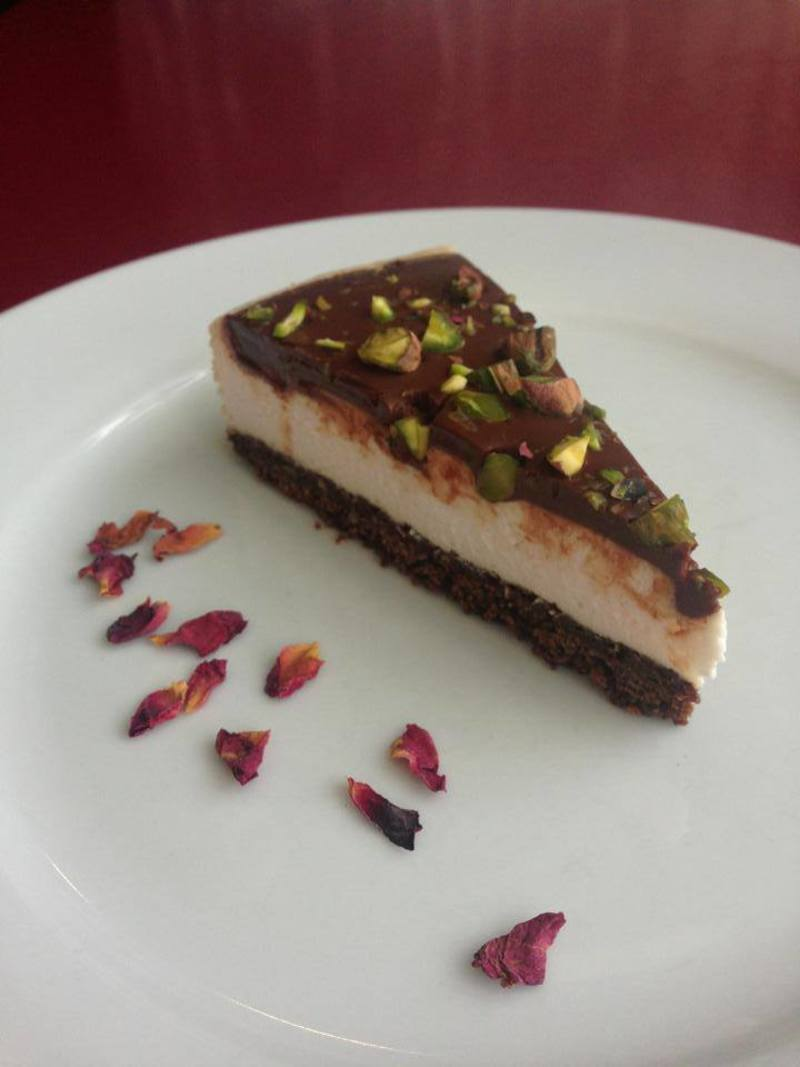 Turkish delight cheesecake  - Rubyfruit - A Review
