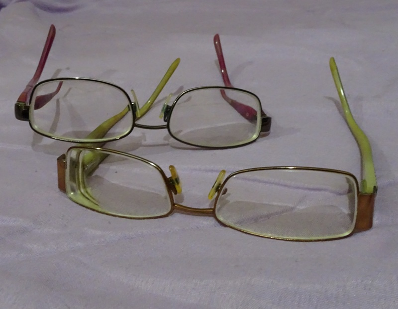 Two pairs of glasses  - Nine Decluttering Tips