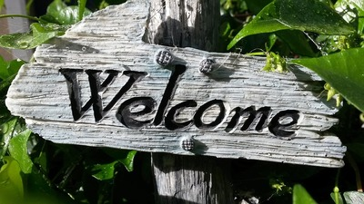 Welcome, Welcome Sign
