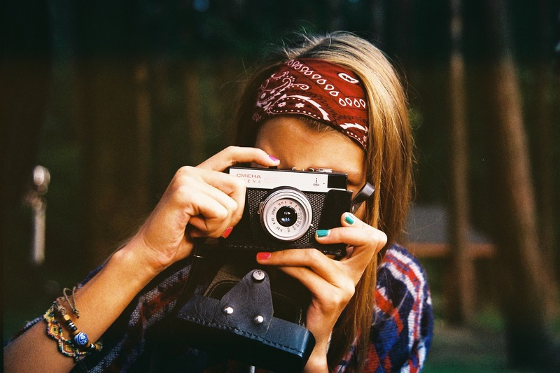 Woman photographer  - Different Responses To Boredom